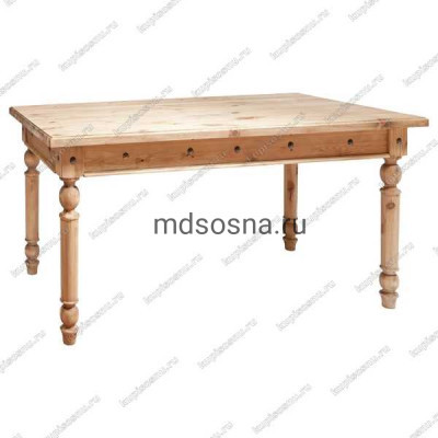 Стол обеденный Викинг GL-05 (160*80)(старение)